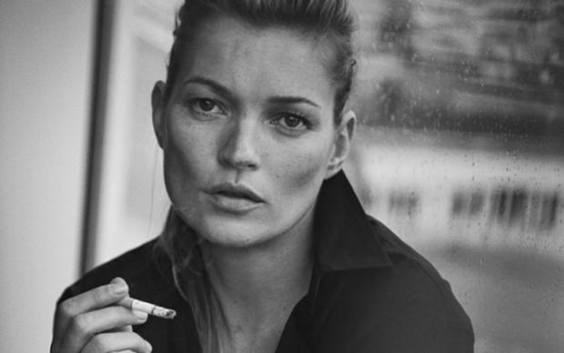 Kate Moss, Paris, 2015 Vogue Italia © Peter Lindbergh (Courtesy of Peter Lindbergh, Paris / Gagosian Gallery)