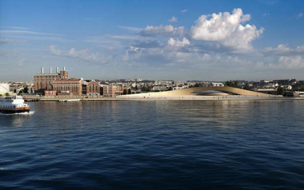 MAAT River view_Architectural Visualization_© AL_A