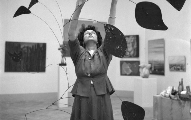 Peggy Guggenheim scultura mobile Alexander Calder_Biennale_1948