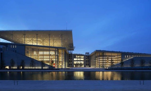Renzo Piano, Centro Culturale Stavros Niarchos, Atene © Michel Denancé