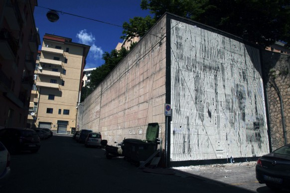 Sten Lex, Abeti, Via Lidonnici. Quartiere San Leonardo, Catanzaro; photo by Angelo Jaroszuk Bogasz