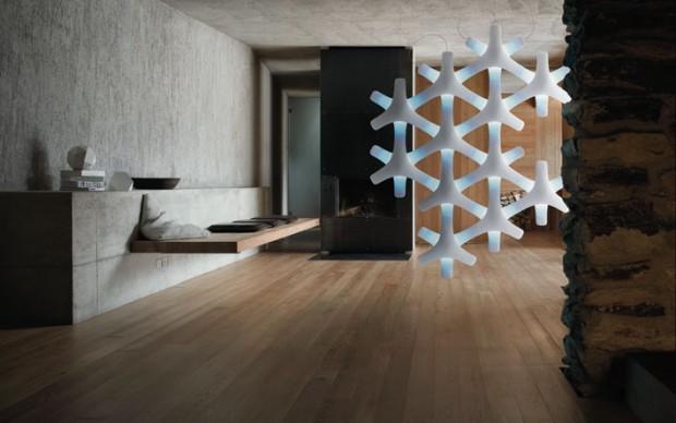 Synapse Luceplan ADI Design Index 2014 menzione d'onore Compasso d'Oro 2016