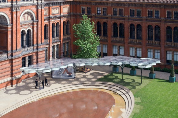 Elytra Filament Pavilion, Victoria and Albert Museum, Londra, maggio 2016 (c) (c) NAARO