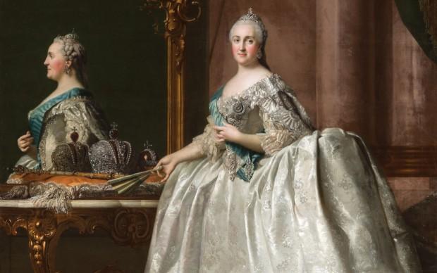 Vigilius-Eriksen-Caterina-II-di-Russia-La-Grande