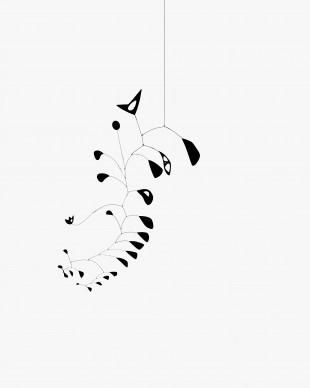 Alexander Calder, The S-Shaped Vine, 1946, The Eli and Edythe L. Broad Collection  © 2016 Calder Foundation, New York / ProLitteris, Zurich. Photo: Calder Foundation, New York / Art Resource, New York