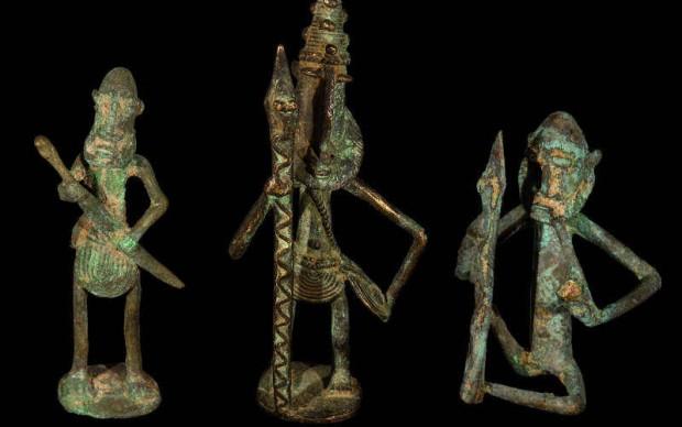 dogon guerrieri-in-bronzo museo storia naturale venezia