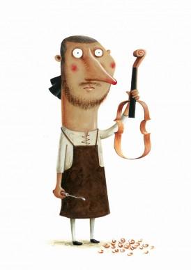 Joao vaz de Carvalho, Antonio Stradivari