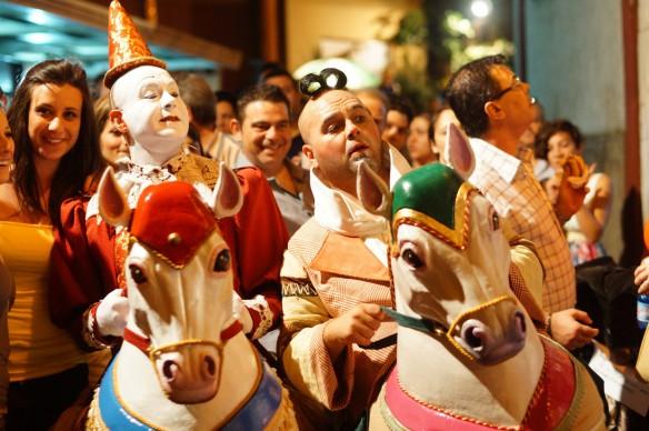 Mercantia - Festival internazionale di teatro di strada: Baracca dei buffoni