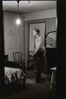 Diane Arbus, The Backwards Man in his hotel room, N.Y.C . 1961 © The Estate of Diane Arbus, LLC. All Rights Reserved