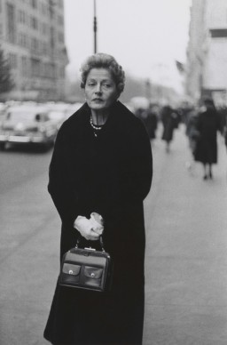 Diane Arbus, Woman with white gloves and a pocket book, N.Y.C. 1956 © The Estate of Diane Arbus, LLC. All Rights Reserved