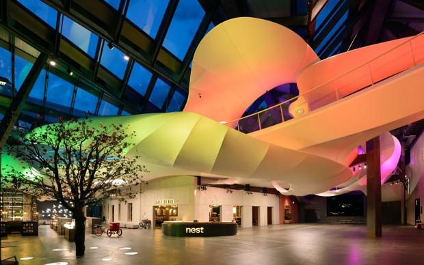 Tinker imagineers, Visions, parte della Open House Nestlé a Vevey, Svizzera. Photo by Mike Bink