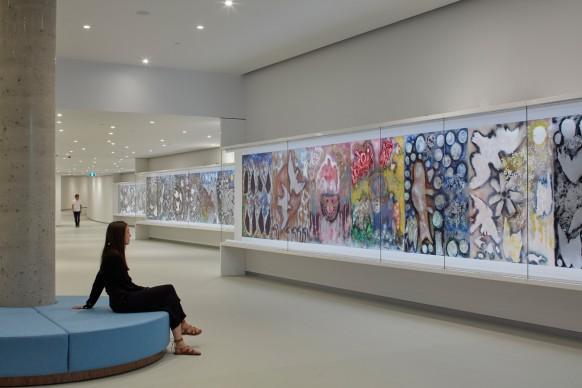 OMA, Musée des Beaux-Arts, Pierre Lassonde Pavilion, photo by Bruce Damonte
