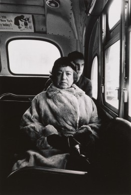 Diane Arbus, Lady on a bus, N.Y.C.  1957 © The Estate of Diane Arbus, LLC. All Rights Reserved