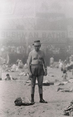 Diane Arbus, Man in hat, trunks, socks and shoes, Coney Island, N.Y.  1960 © The Estate of Diane Arbus, LLC. All Rights Reserved