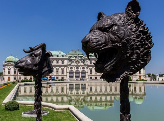 Ai Weiwei, Circle of Animals - Zodiac Heads 2010, collezione privata, photo (c) Belvedere, Vienna