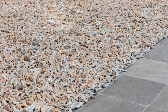 Ai Weiwei, Spouts, 2015, ceramics, (c) Ai Weiwei Studio, photo (c) Belvedere, Vienna