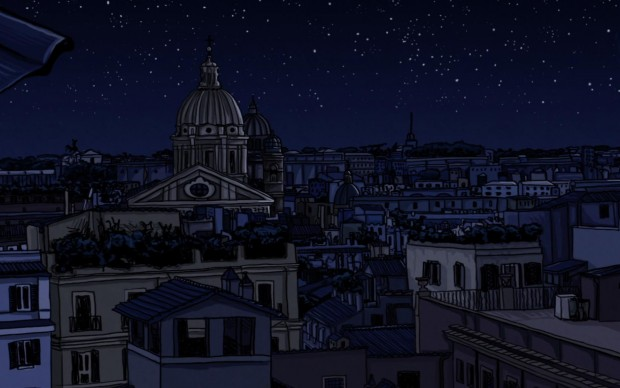 BALCK Roma night progetto cross-mediale cortometraggio animazione album musica elettronica crowdfunding