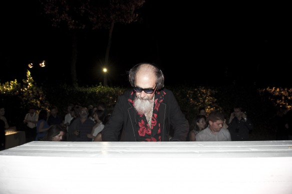 Roberto D'Agostino. Photo by Alessandro Pizzi