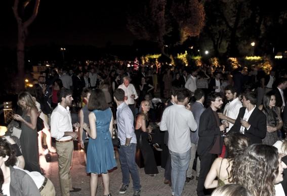 Una panoramica dell'evento tenutosi a Roma, la sera del 5 luglio, per il lancio del nuovo programma Master of Photography. Photo by Alessandro Pizzi