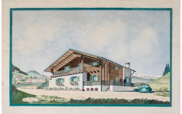 Giovanni-Lorenzi_Chalet-Casa-di-villeggiatura-montana-anni-40