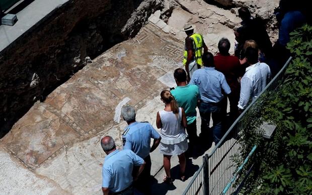 Il mosaico romano scoperto a Cipro