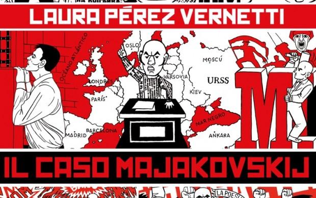 Laura-Pérez-Vernetti-Il-caso-Majakovskij-graphic novel fumetto Coconino-Press