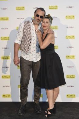 Massimiliano Vado e Michela Andreozzi. Photo by Fabio Mazzarella
