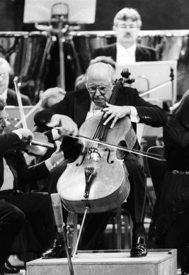 Mitislav Rostropovich, Orchestra del Teatro alla Scala, Teatro alla Scala, Milano © Silvia Lelli e Roberto Masotti