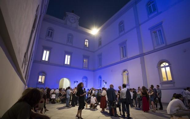 Museo MADRE Napoli evento estivo festival sera