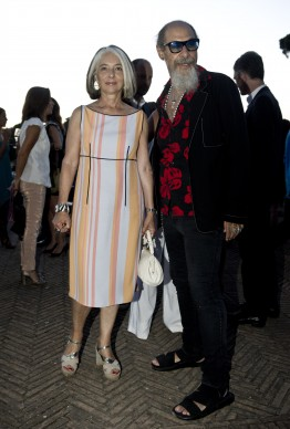 Roberto e Anna D'Agostino. Photo by Alessandro Pizzi