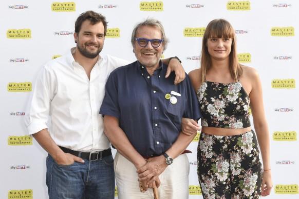 Rocco, Oliviero e Lola Toscani. PPhoto by Fabio Mazzarella