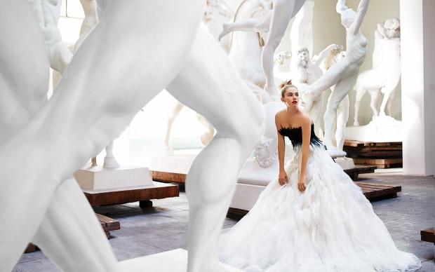 Sienna Miller, Rome, American Vogue, 2007 © Mario Testino