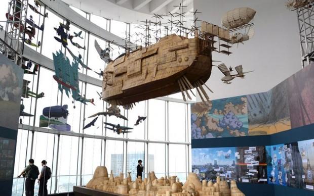 Studio-Ghibli-myazaki mostra Tokyo-City-View-Observation-Deck-Sky-Gallery