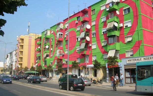 The Façades Project by Helidon Gjergji, 2000