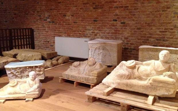 Tomba etrusca del III secolo a.C. - Museo Civico Diocesano Santa Maria dei Servi, Città della Pieve - Foto di Claudia Giraud