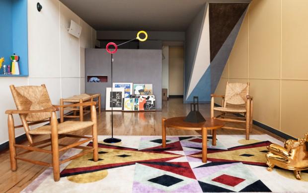 alessandro-mendini-appartamento-50 cite-radieuse-le-corbusier marsiglia restyling