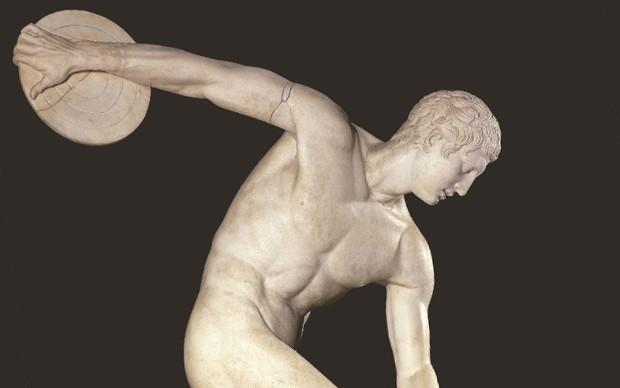 discobolo mirone statua musei vaticani