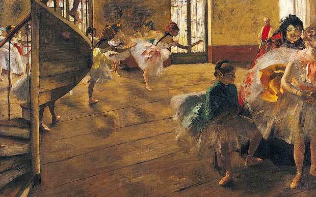 Edgar Degas, La répétition, 1874, Glasgow, Glasgow Art Gallery and Museum