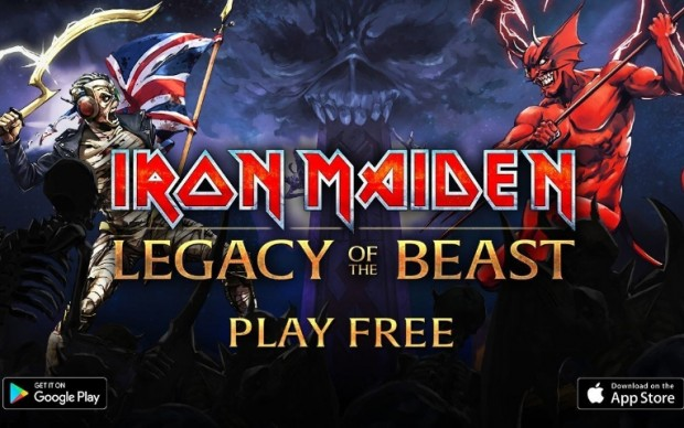 videogame Iron Maiden Legacy of the Beast