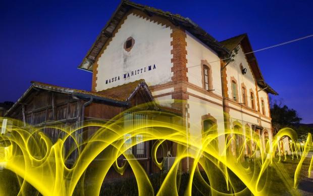 ivan-falardi-la-partenza-del-treno-giallo toscana foto festival