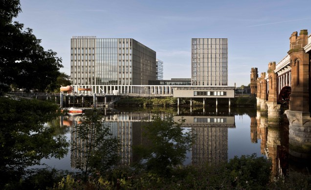 City of Glasgow College by Michael Laird Architects & Reiach and Hall Architects, credits Keith Hunter