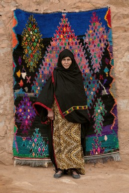 Fatima Oumharch, 2012-2013, photo © Serge Anton