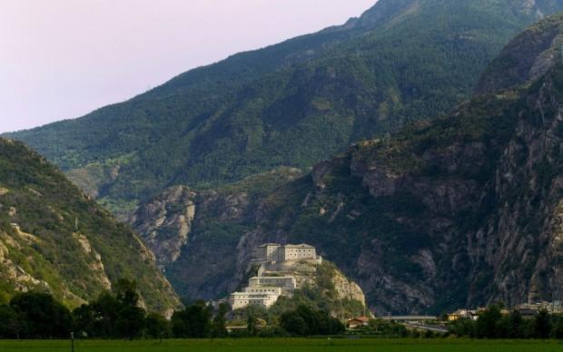Forte di Bard-panoramica