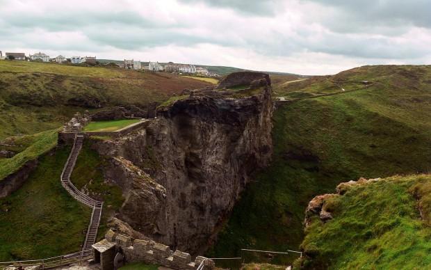 Castello di Tintagel Cornovaglia leggenda Re Artù