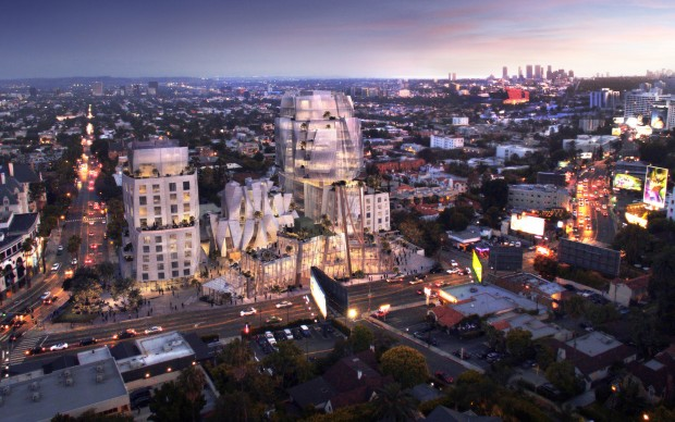 Frank Gehry_8150_Sunset_Blvd_Los Angeles