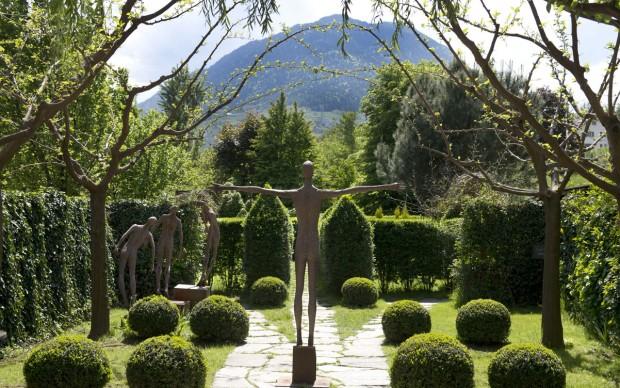 Kränzelhof Lana Trentino Alto Adige parco giardino