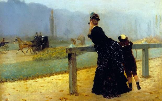 Giuseppe de Nittis, Al Bois de Boulogne, 1873