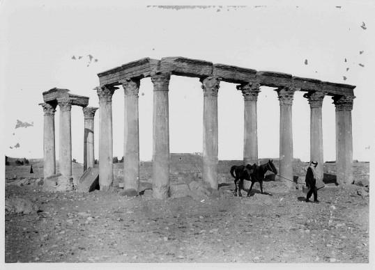 Tony André, Palmira, 1910. Archivio ICCD, Mibact