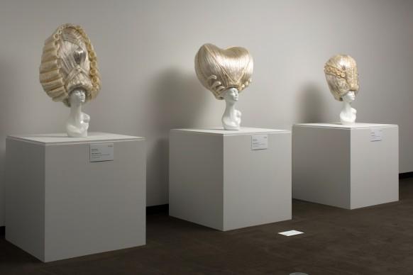 Go for Baroque: Opulence and Excess in Contemporary Art, installation view della mostra al RAM - Racine Art Museum