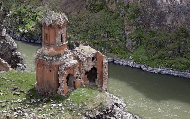 Monastero della Vergine Hripsimian Ani Armenia Turchia archeologia sito unesco patrimonio umanità